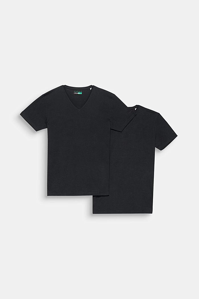 2er-Pack Jersey-Baumwoll-Shirts