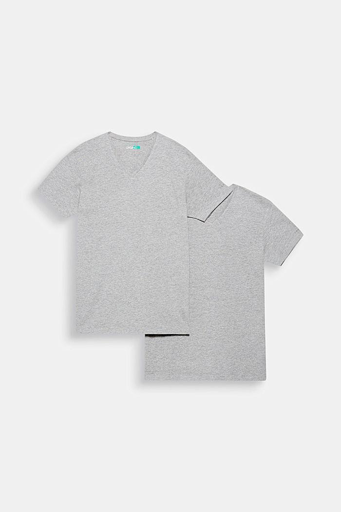 2er-Pack Jersey-Shirts mit Organic Cotton