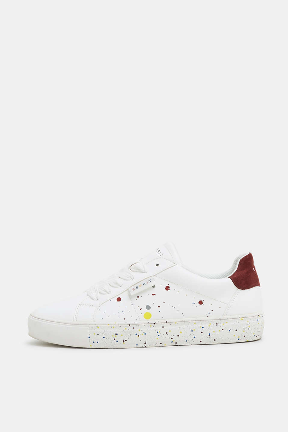 Esprit - Modieuze sneakers met paint effect