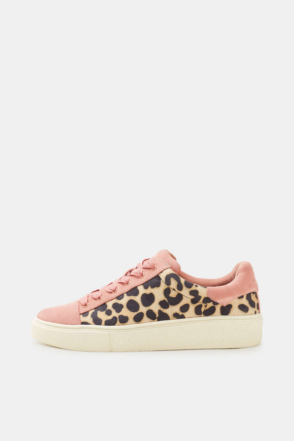 Esprit - Sneakers med leopardprint