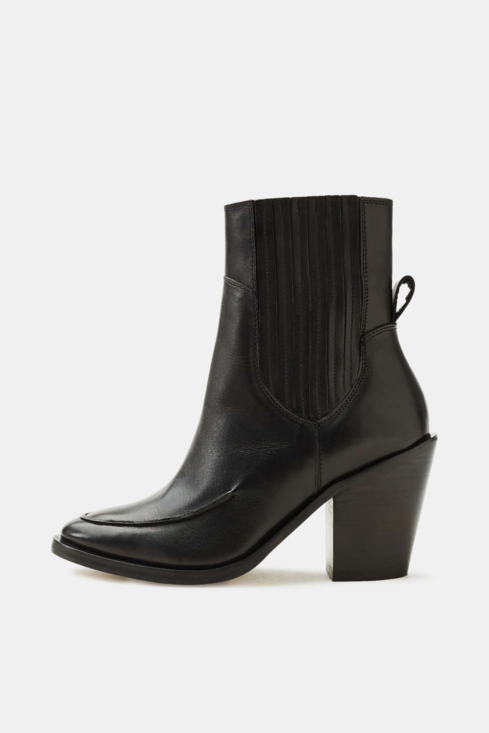 Esprit - Leather cowboy boots