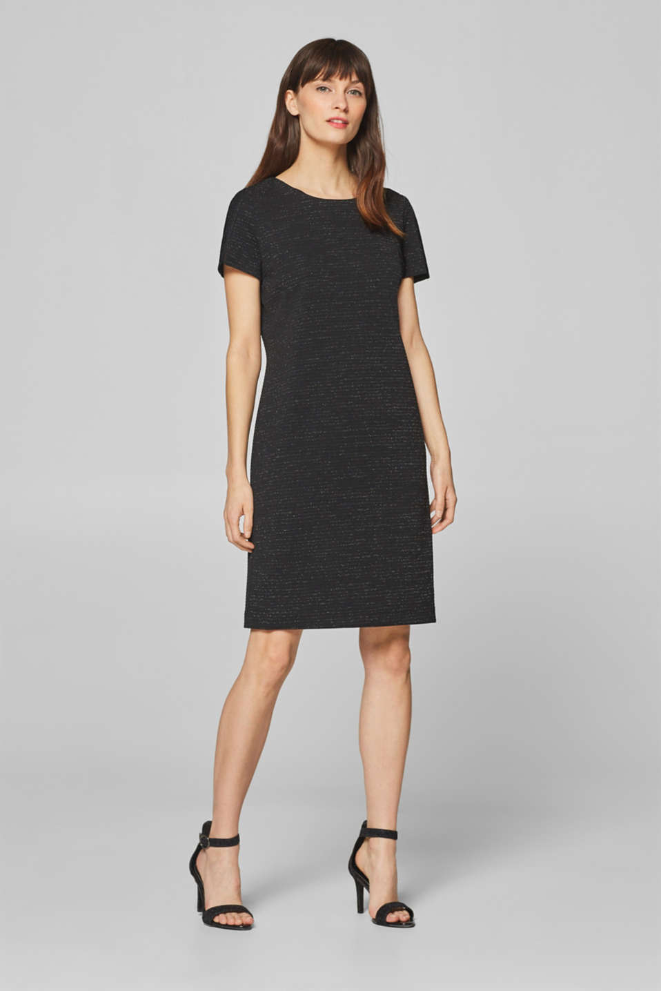 Esprit - Sheath dress with glitter threads