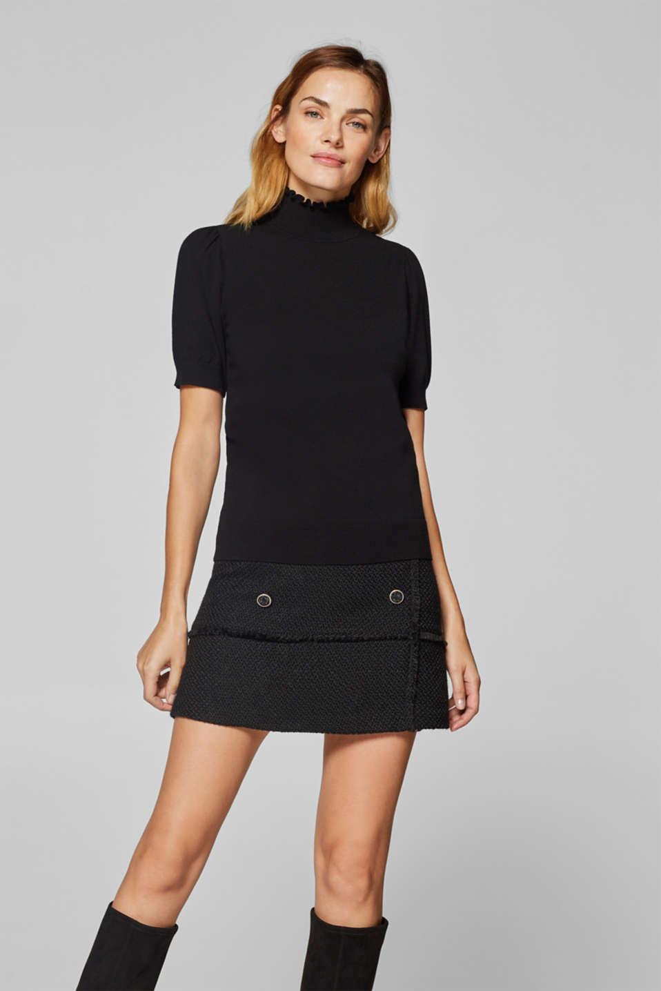 Sweaters, BLACK 2, detail image number 0