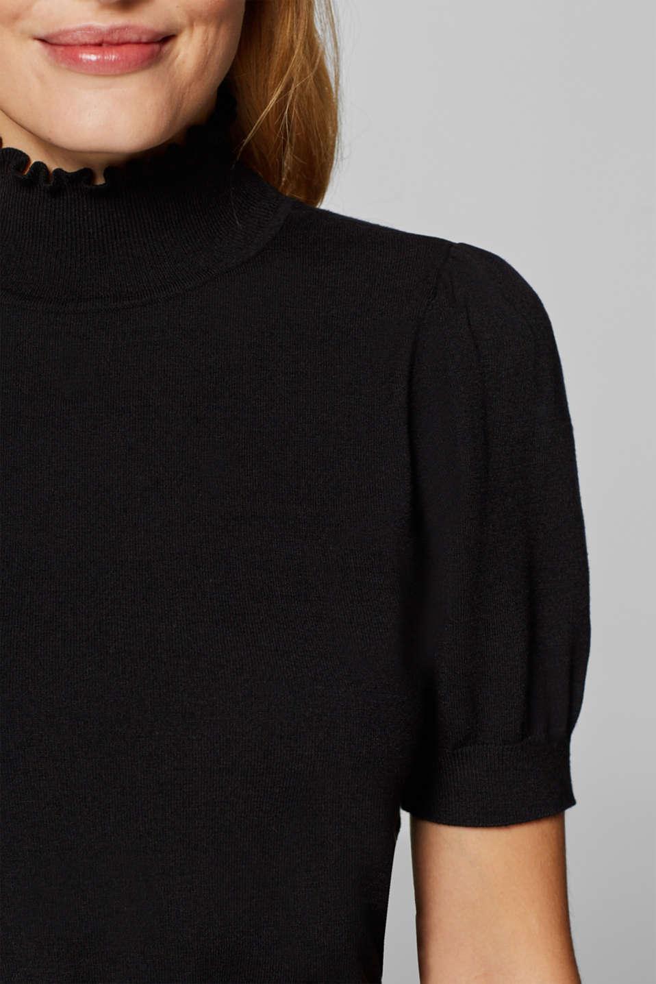 Sweaters, BLACK 2, detail image number 2