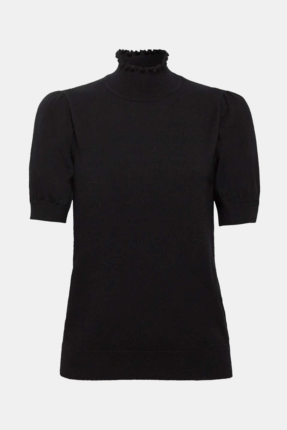 Sweaters, BLACK 2, detail image number 5