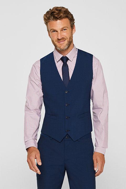 CLASSIC BLUE mix + match: waistcoat with wool