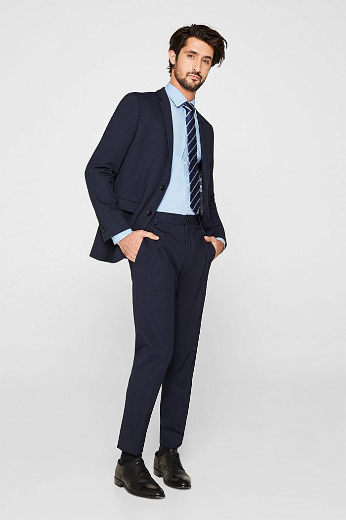 2er-Pack Business-Hemden aus Baumwoll-Stretch, LIGHT BLUE, detail image number 1