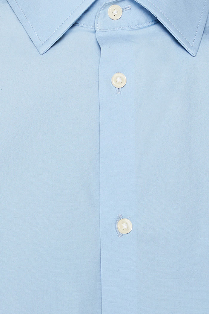 2er-Pack Business-Hemden aus Baumwoll-Stretch, LIGHT BLUE, detail image number 4