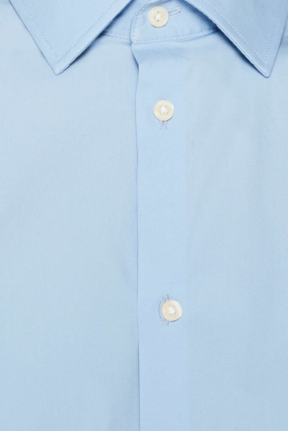 Double pack of business shirts made of stretch cotton, LIGHT BLUE, detail image number 4