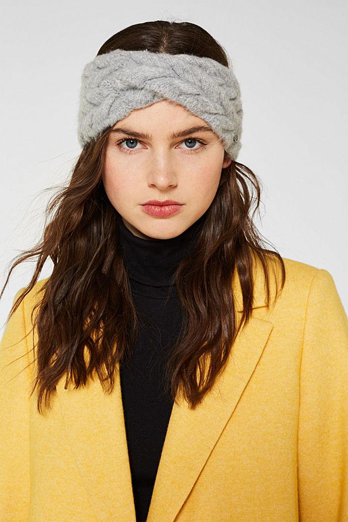 Headband in a braided look