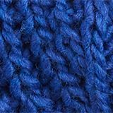 With wool and alpaca: Textured scarf, BRIGHT BLUE, swatch