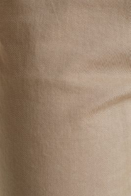 Tracksuit bottoms with an elasticated waistband, BEIGE, detail