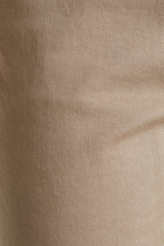 Tracksuit bottoms with an elasticated waistband, BEIGE, detail image number 4