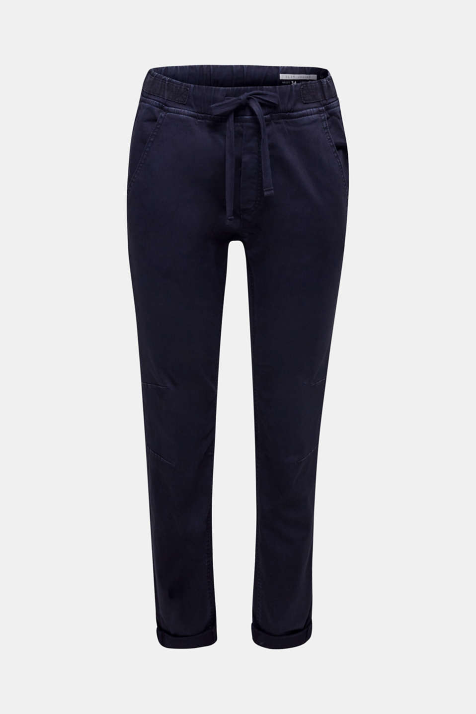 Tracksuit bottoms with an elasticated waistband, NAVY, detail image number 7