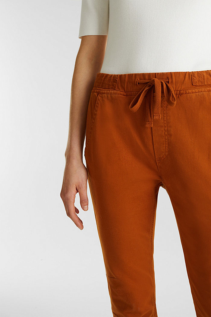 Tracksuit bottoms with an elasticated waistband, CINNAMON, detail image number 2