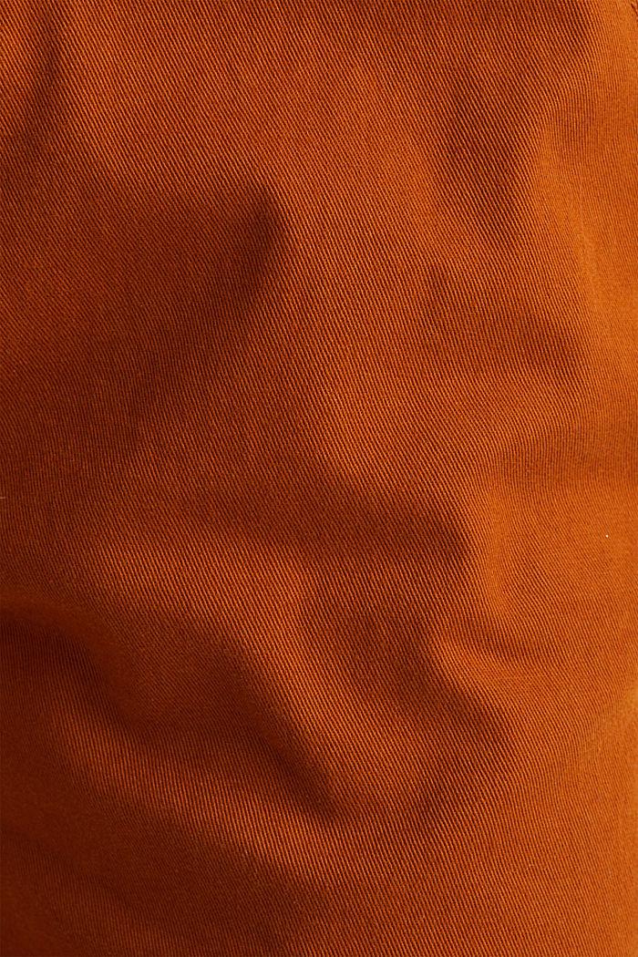 Jogger-Pants mit Gummizugbund, CINNAMON, detail image number 4