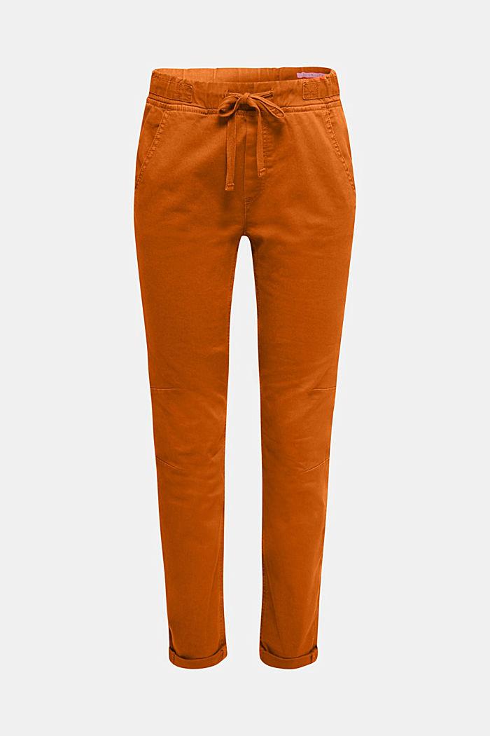 Jogger-Pants mit Gummizugbund, CINNAMON, detail image number 7
