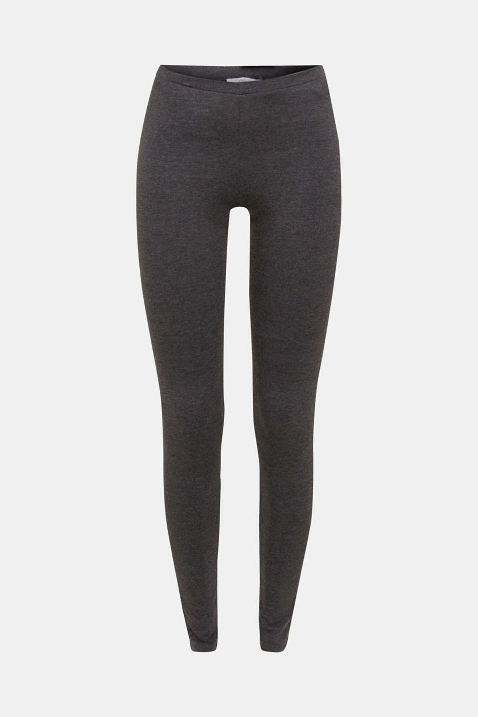 Leggings with organic cotton, ANTHRACITE, detail image number 4