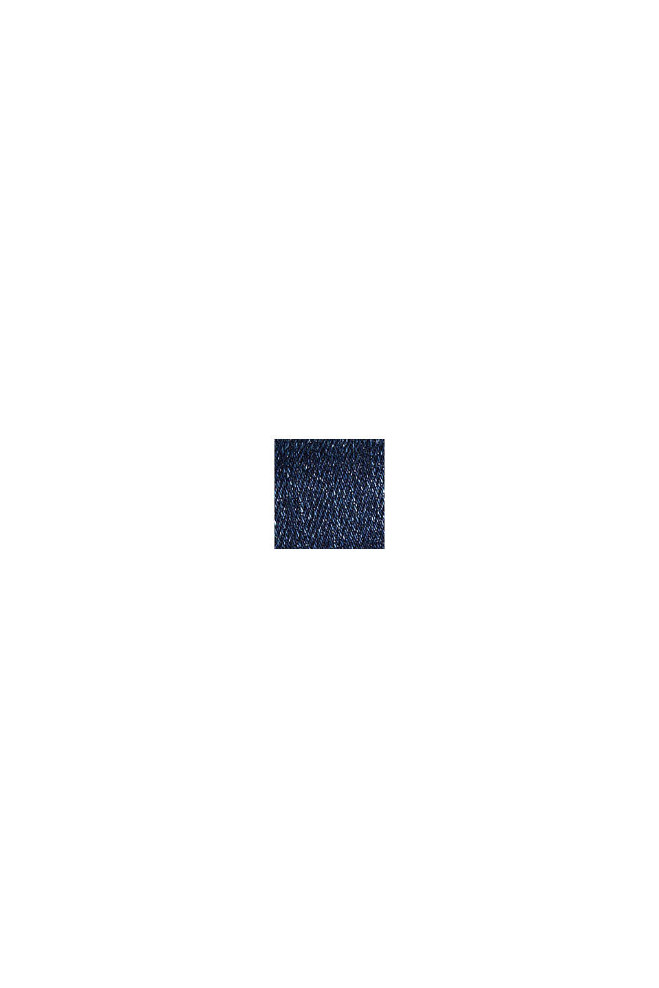 Stretchjeans med knäppbara fickor med lock, BLUE DARK WASHED, swatch