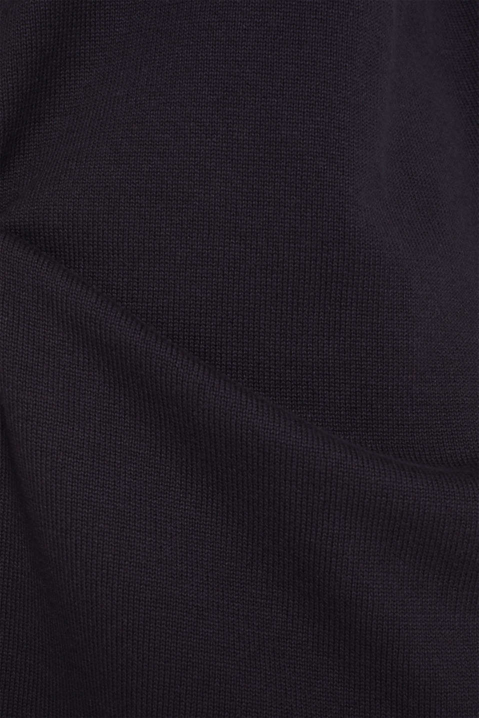 Knit dress with stripes, 100% cotton, NAVY 2, detail image number 5