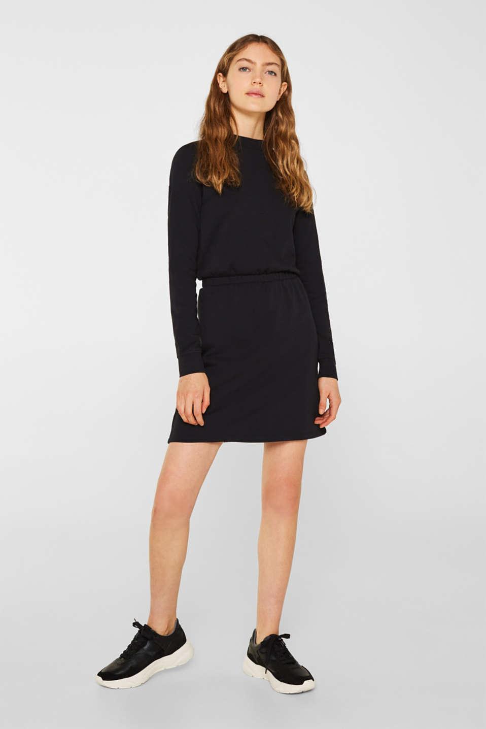 Dresses knitted, BLACK, detail image number 1