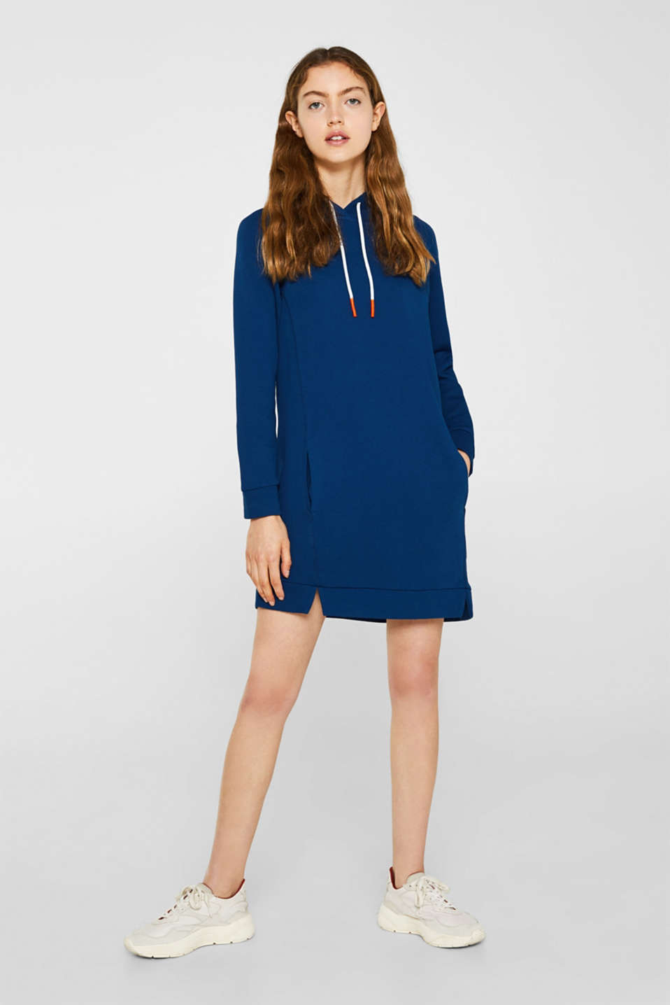 Dresses knitted, DARK BLUE, detail image number 1