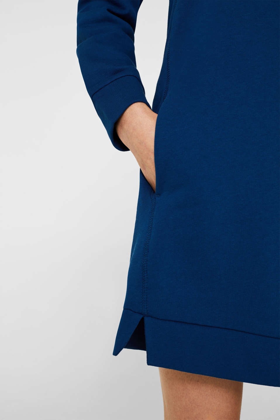 Dresses knitted, DARK BLUE, detail image number 6
