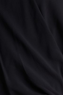 Blouse with LENZING™ ECOVERO™, BLACK, detail