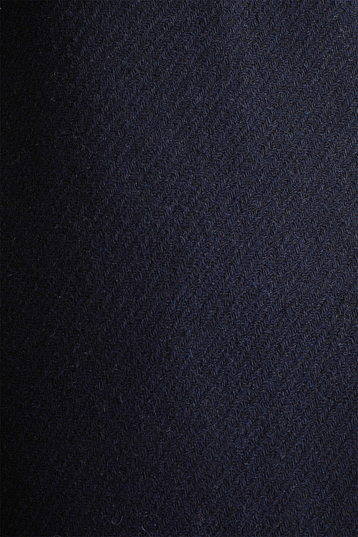 Made of blended wool: padded shirt jacket, NAVY, detail image number 4