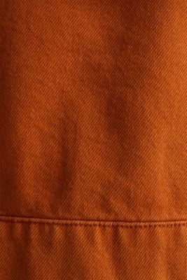 Short twill jacket with pockets, CINNAMON, detail