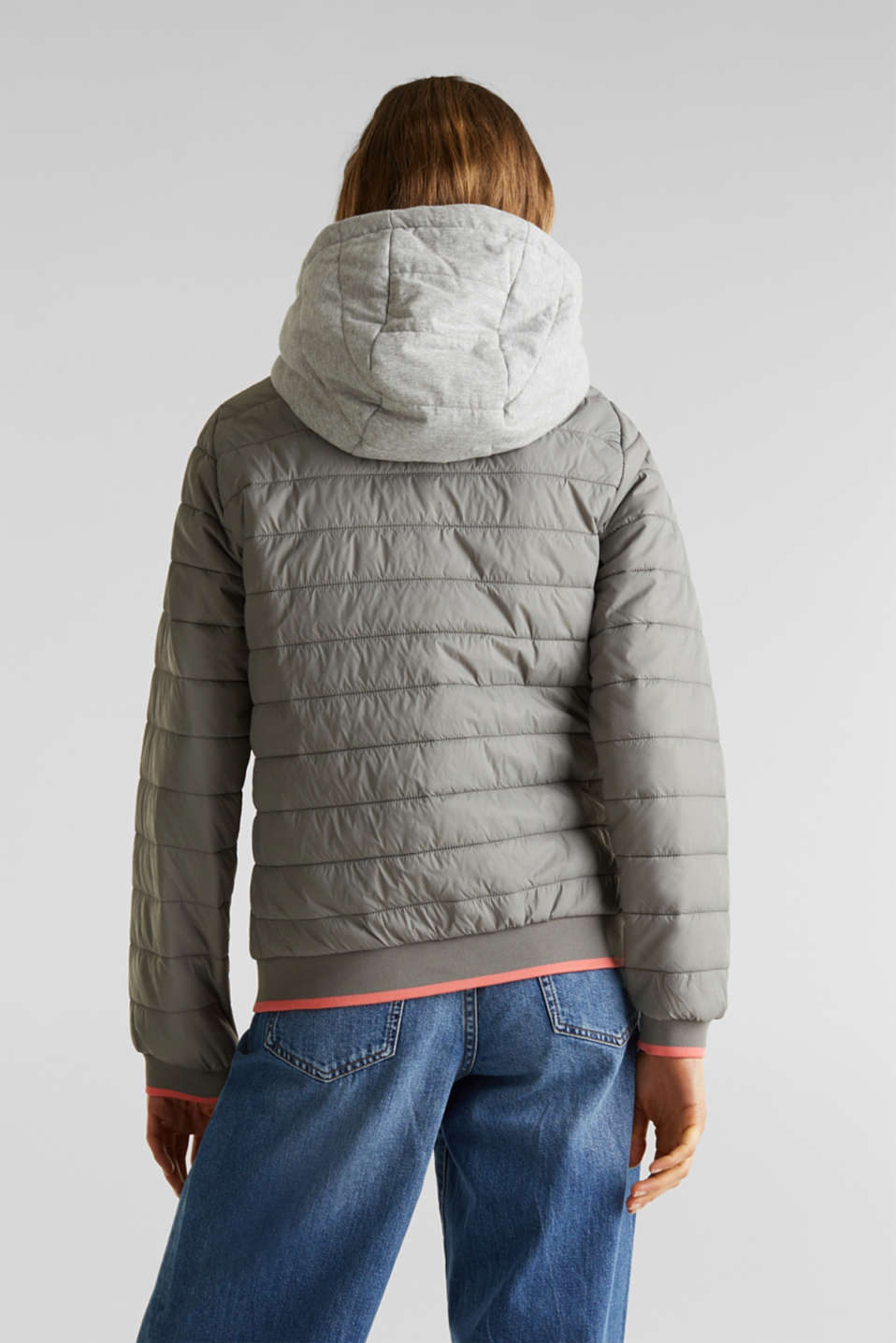 Jackets outdoor woven, GREY 5, detail image number 3