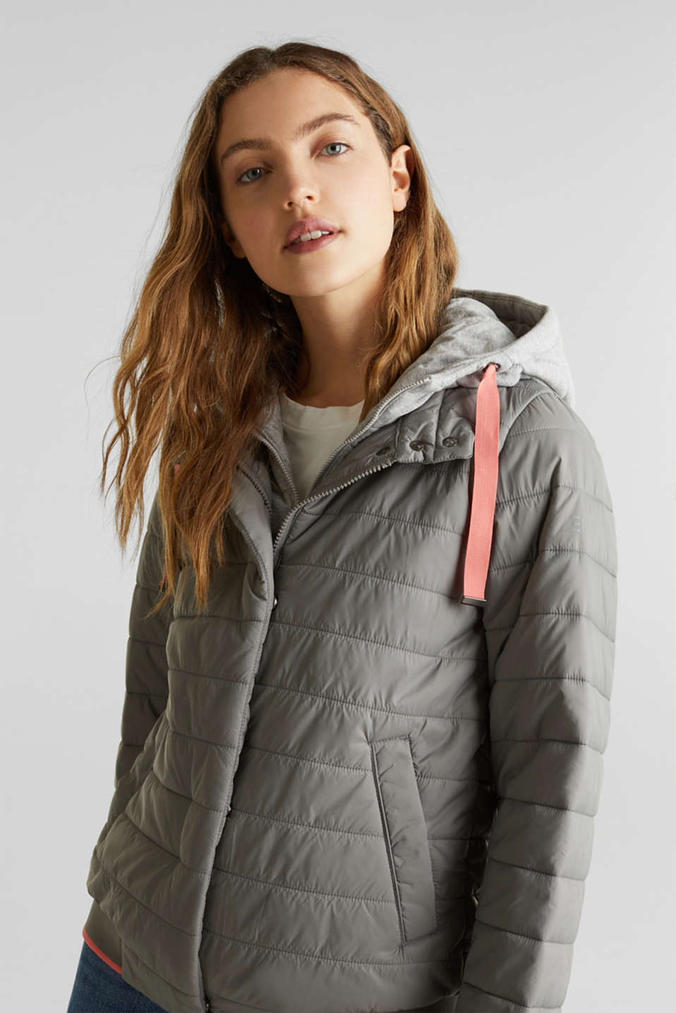 Jackets outdoor woven, GREY 5, detail image number 6