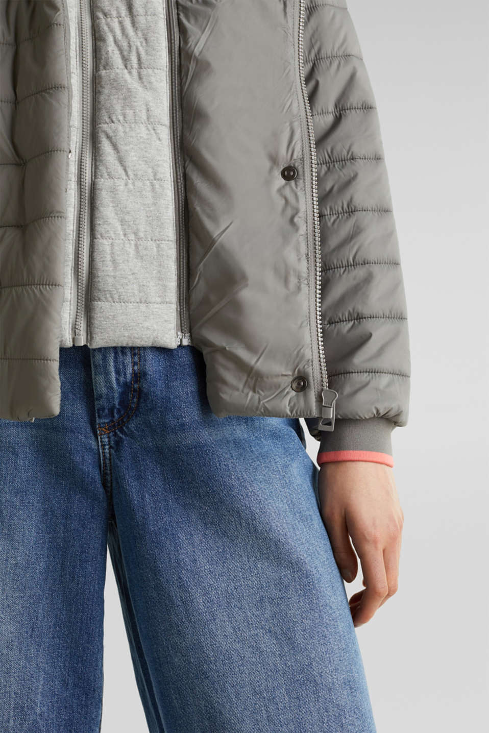 Jackets outdoor woven, GREY 5, detail image number 5