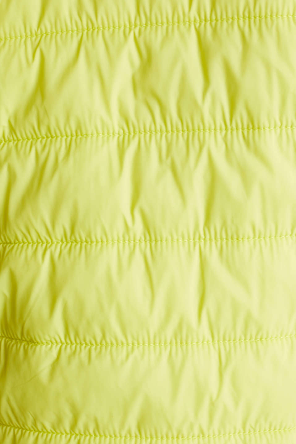 Two-in-one quilted jacket with an adjustable hood, LIME YELLOW, detail image number 4