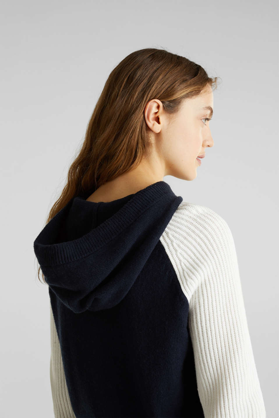 Sweaters, NAVY 2, detail image number 5