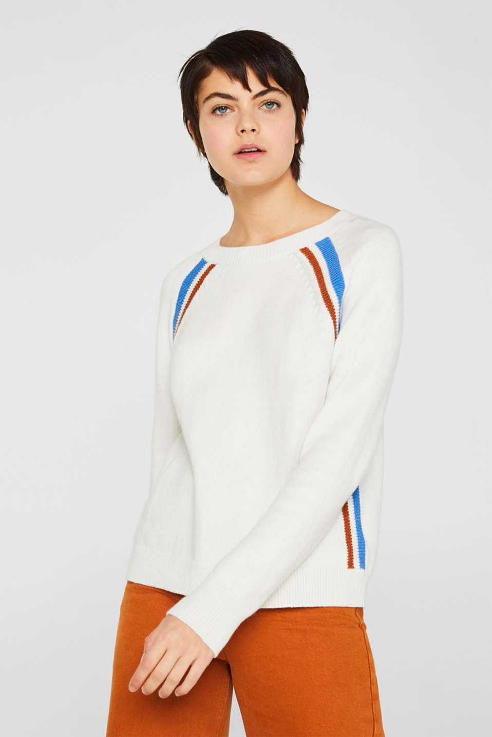 Sweaters, OFF WHITE 2, detail image number 0