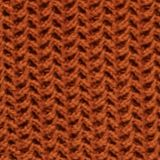 Boxy chunky knit jumper, CINNAMON, swatch