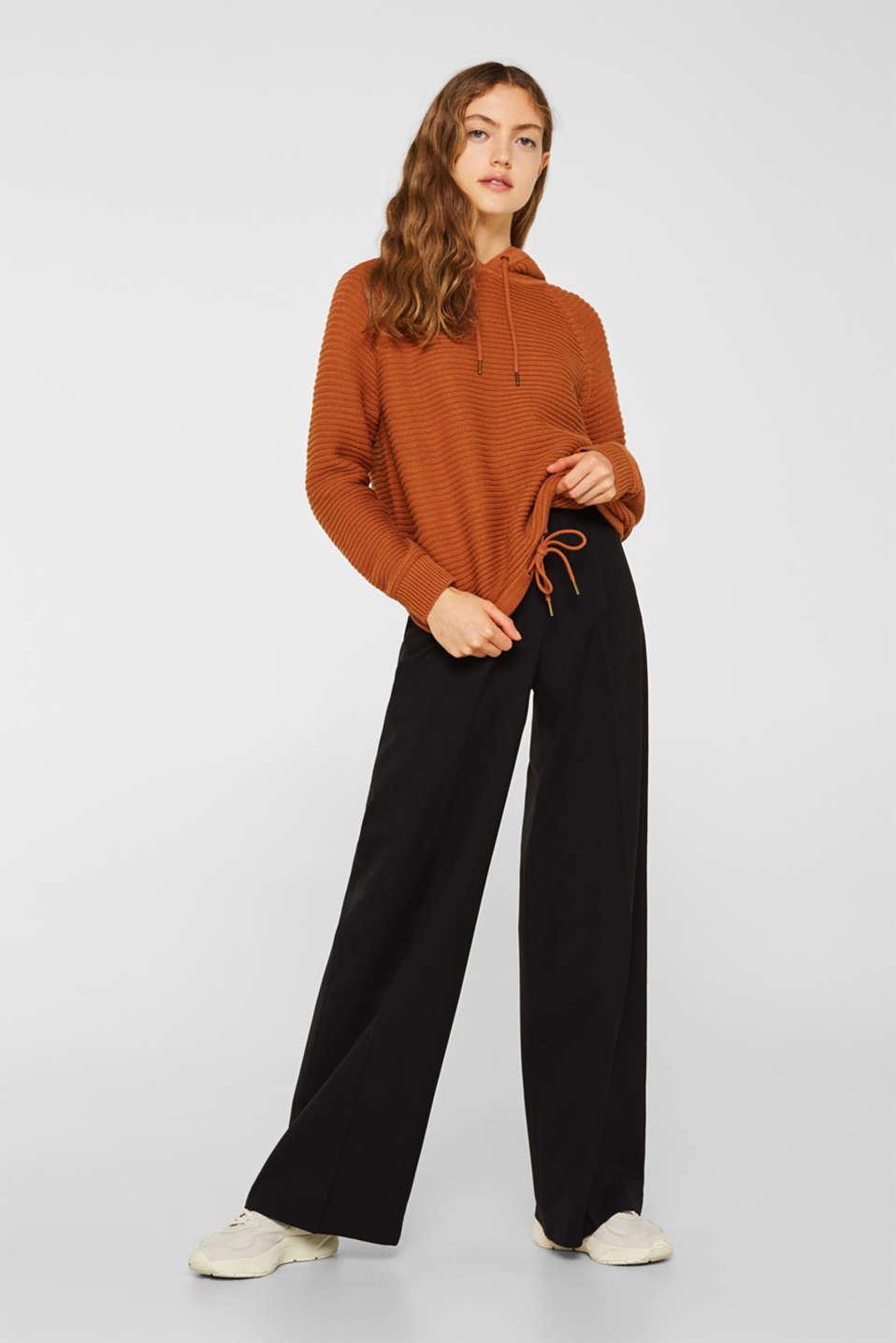 Sweaters, CINNAMON, detail image number 5