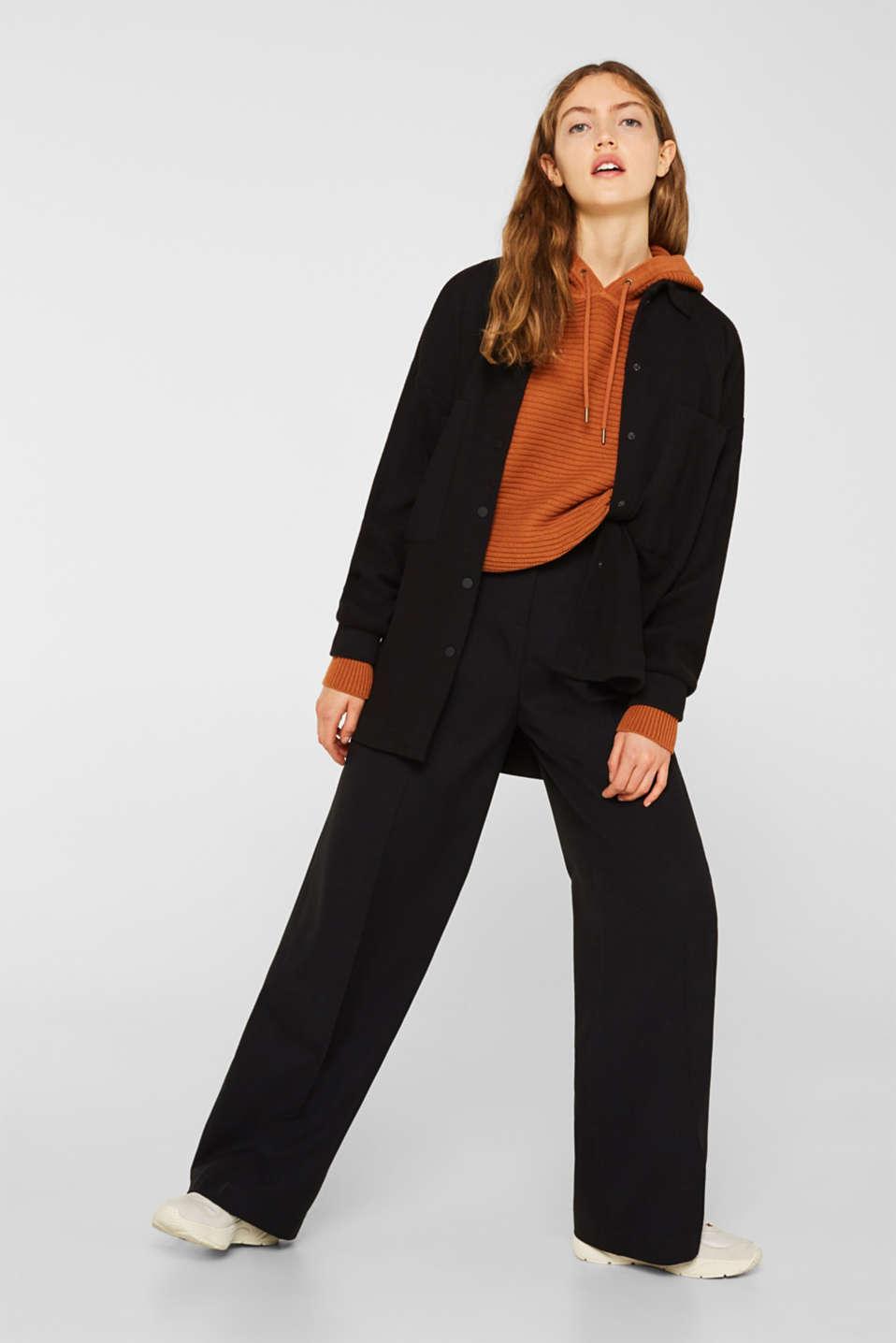 Sweaters, CINNAMON, detail image number 1