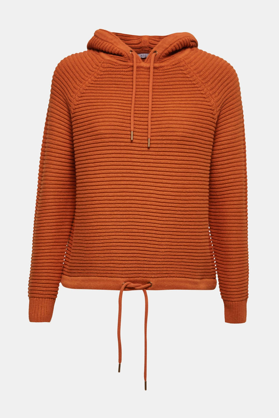 Sweaters, CINNAMON, detail image number 6