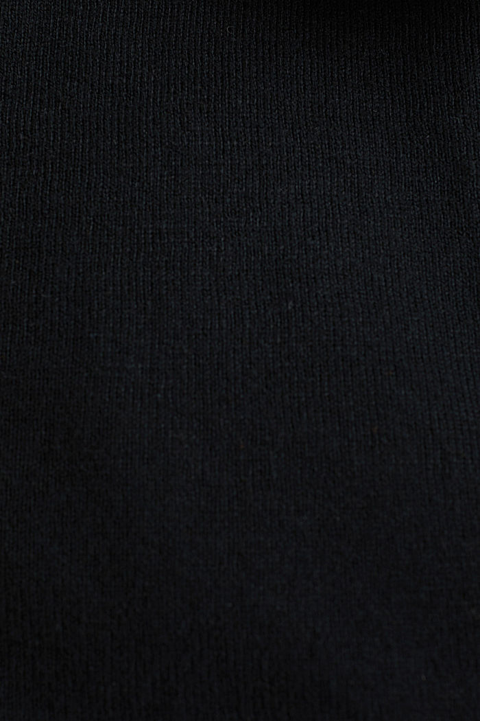 Cardigan aus Baumwoll-Mix, BLACK, detail image number 4
