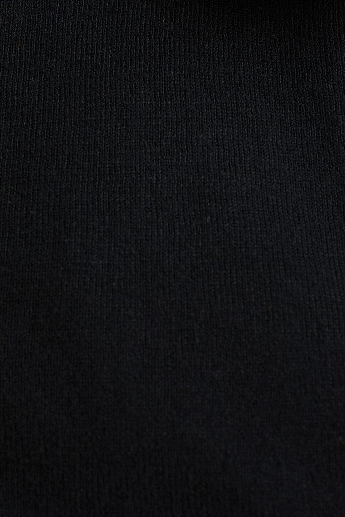 Vest van een katoenmix, BLACK, detail image number 4