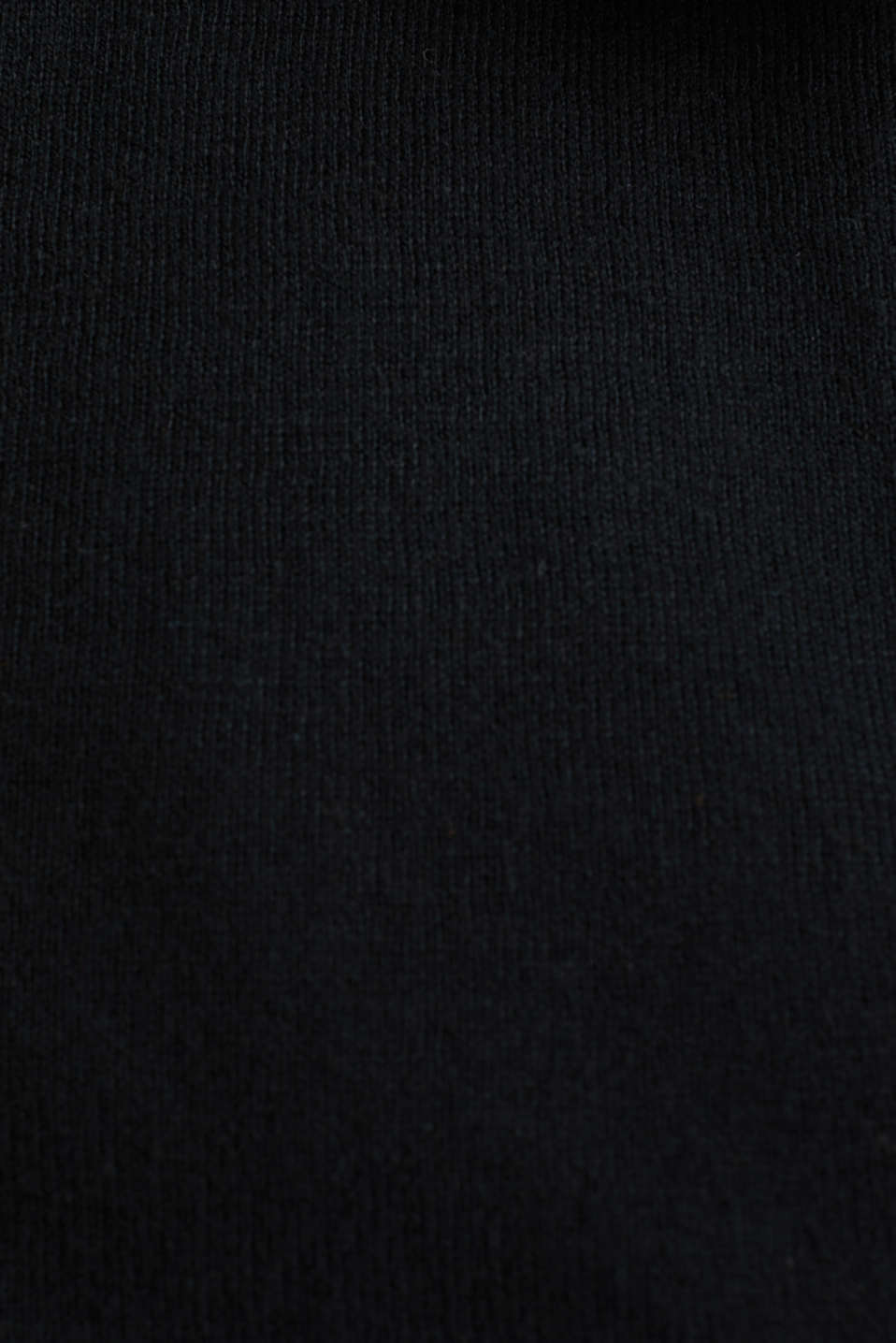 Cotton blend cardigan, BLACK, detail image number 4