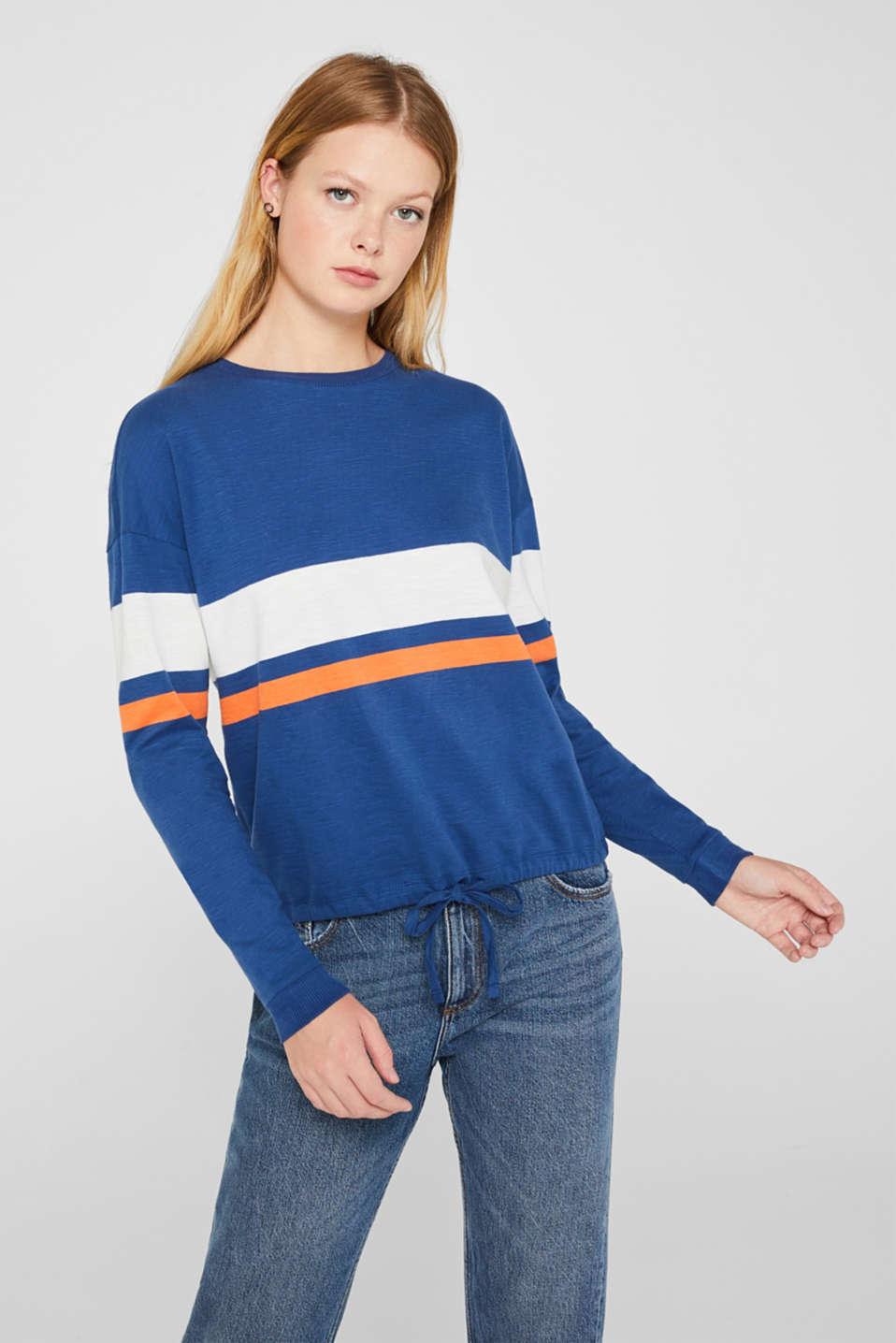 T-Shirts, DARK BLUE, detail image number 0