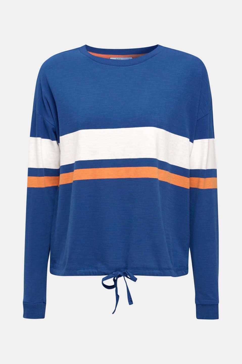 T-Shirts, DARK BLUE, detail image number 6