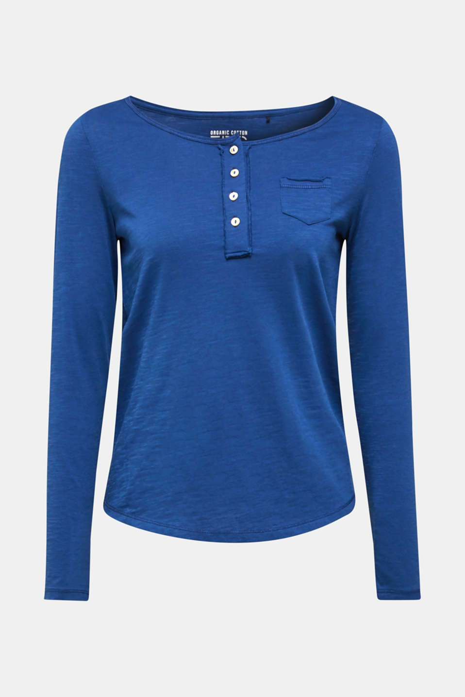 T-Shirts, DARK BLUE, detail image number 5