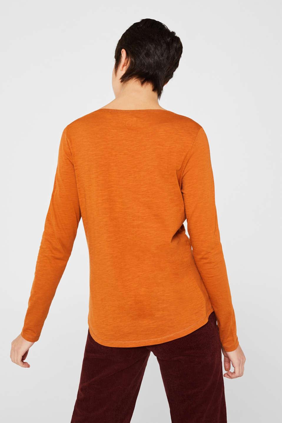 T-Shirts, CINNAMON, detail image number 3