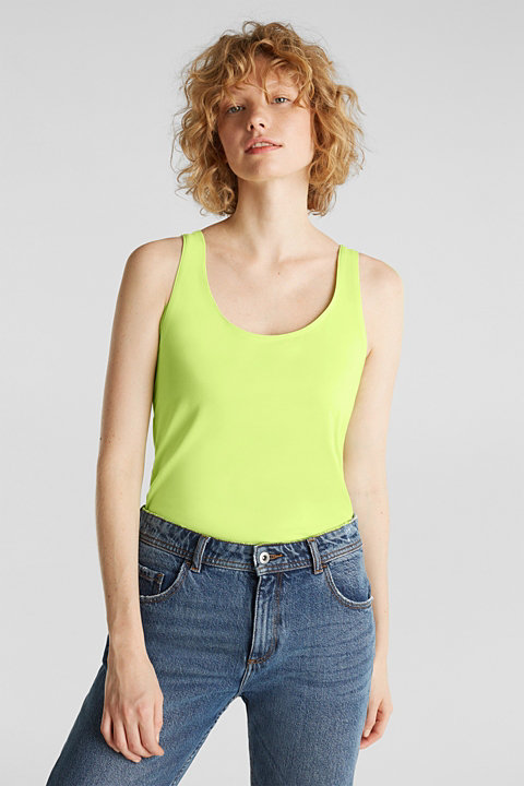 Long stretch cotton top