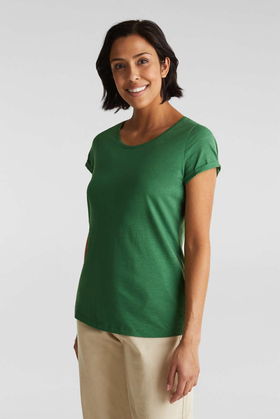 T-Shirts, DARK GREEN 4, detail image number 0