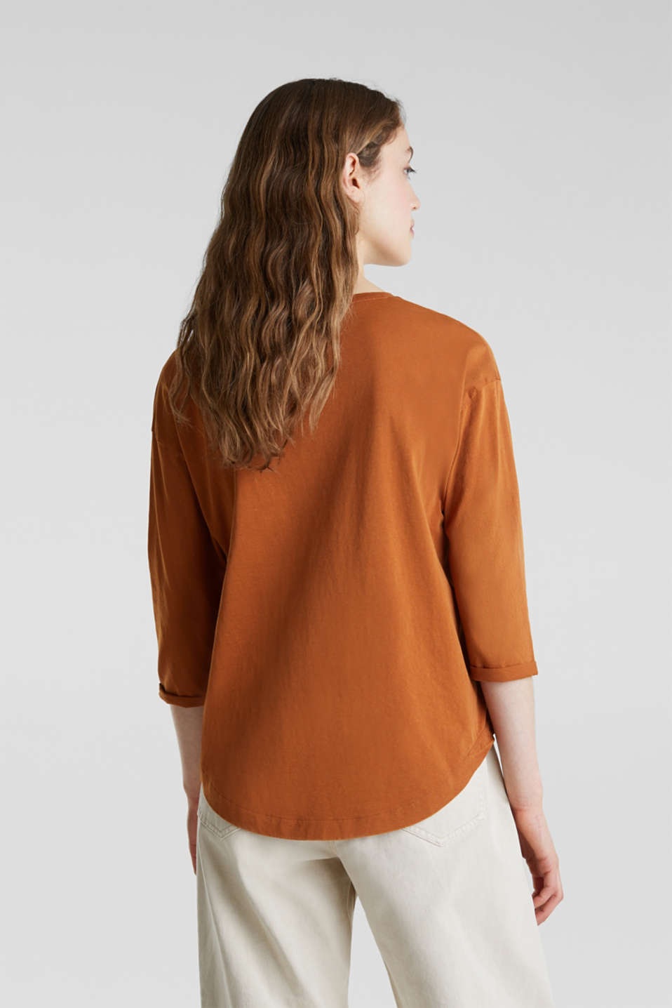 T-Shirts, CINNAMON 4, detail image number 2